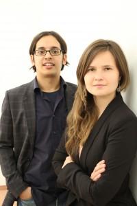 """Anne Grabs und Karim-Patrick Bannour, Buchautoren """"Follow me! - Erfolgreiches Social Media Marketing"""""""