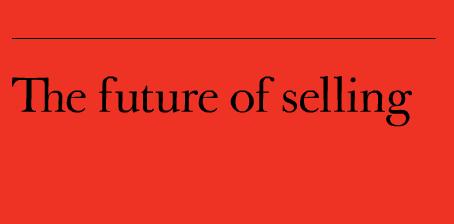 Die Zukunft des Verkaufens
